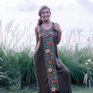 robe hippie chic à fleurs Popie